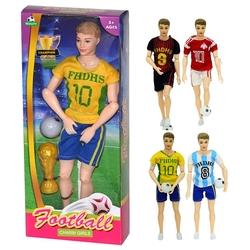 Can Oyuncak - Oyuncak Erkek Futbolcu Bebekler 30 Cm