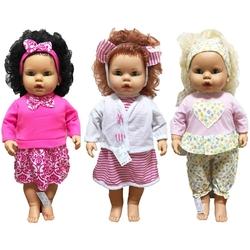 OyuncakFabrikasi - Oyuncak Et Bebek Linda Saçlı 65 Cm