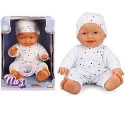 Sunman - Oyuncak Et Bebek Naz Sesli Gülen 23 Cm 20020