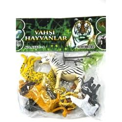 Vardem Oyuncak - Oyuncak Hayvan Seti Vahşi Hayvanlar 8 Cm 9 Parça