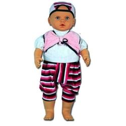OyuncakFabrikasi - Oyuncak Kel Et Bebek Büyük Boy Rebecca 60 cm