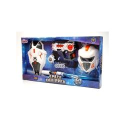 Oyuncak Kılıç kalkan Maskeli Pilli Işıklı Set - Thumbnail