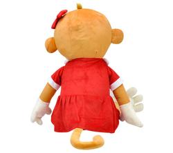 Oyuncak Kız Peluş Maymun Cuci 100 cm - Thumbnail