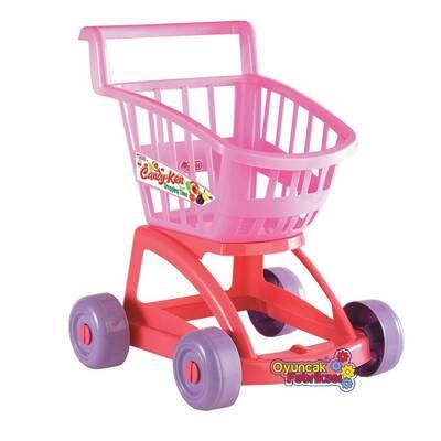 Oyuncak Market Arabası Candy Modelli
