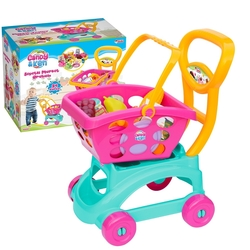 Dede toys - Oyuncak Market Arabası Sepetli Candy Model