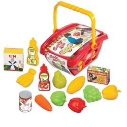 Oyuncak Market Sepeti Candy Küçük Boy - Thumbnail