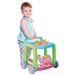 Dede Toys - Oyuncak Mutfak Seti Candy Çay Servis Arabası Tekerlekli