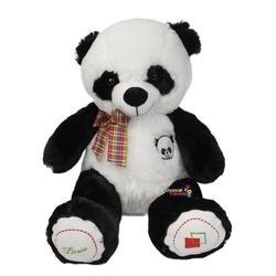 Vardem Oyuncak - Oyuncak Oturan Love Yazılı Peluş Panda 43 Cm
