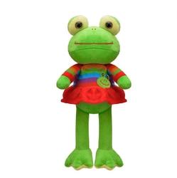 Selay - Oyuncak Peluş Kurbağa Elbiseli 23 Cm
