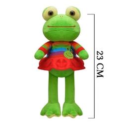Oyuncak Peluş Kurbağa Elbiseli 23 Cm - Thumbnail