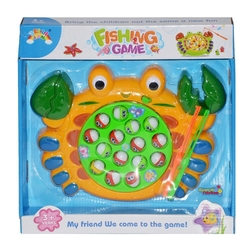 Oyuncak Pilli Balık Tutma Oyunu Yuvarlak Model 18 Parça - Thumbnail