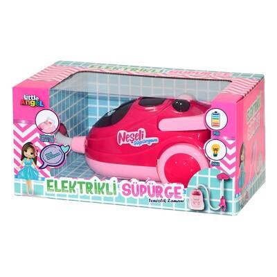 Oyuncak Pilli Işıklı Oyuncak Elektrikli Süpürge