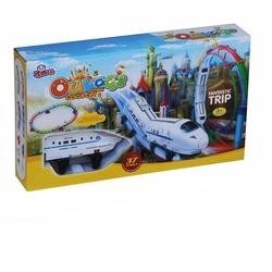 Vardem Oyuncak - Oyuncak Pilli Işıklı Tur Tren Seti 37 Parça Fantastic (Beyaz)