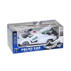 - Oyuncak Polis Arabası Sesli Işıklı Çarpdön Kapıları Açılabilen 20cm