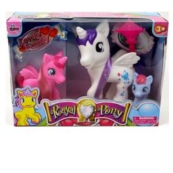 Vardem Oyuncak - Oyuncak Pony Sevimli At Ailesi 3 Boy