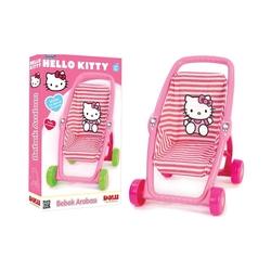 Dolu Oyuncak Fabrikasi - Oyuncak Pusetli Bebek Arabası Hello Kitty
