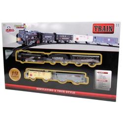 Vardem Oyuncak - Oyuncak Tren Seti 19 Parça Klasik Express