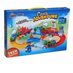 Vardem Oyuncak - Oyuncak Tren Seti Eğlenceli İstasyon