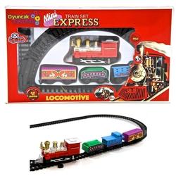 Vardem Oyuncak - Oyuncak Tren Seti Mini Expres