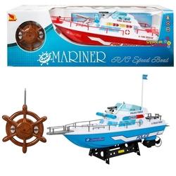 Sunman - Oyuncak Uzaktan Kumandalı Polis İtfaiye Tekne 45 Cm Full Foksiyonlu
