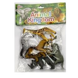 Vardem Oyuncak - Oyuncak Vahşi Hayvan Seti 13 Cm 6 Adet