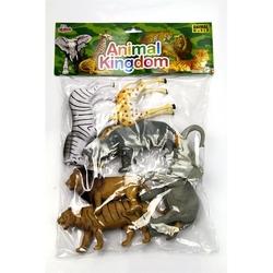 Vardem Oyuncak - Oyuncak Vahşi Hayvan Seti 6 Parça 20 Cm