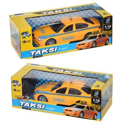 Pasifik Uzaktan Kumandalı Oyuncak Pilli Taksi Araba