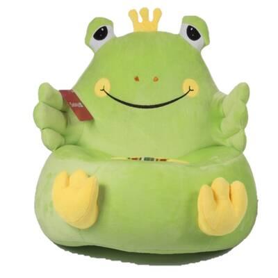 Peluş Çocuk Koltuk Kurbağa 50 Cm