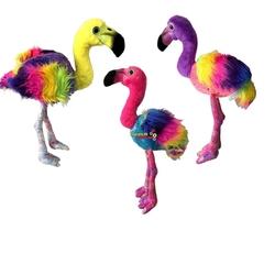 Vardem Oyuncak - Peluş Flamingo Gökkuşağı 75 Cm