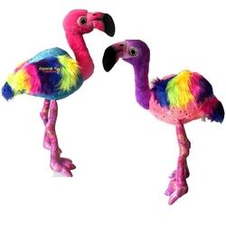 Vardem Oyuncak - Peluş Oyuncak Flamingo Gökkuşağı Dev Boy 115 Cm