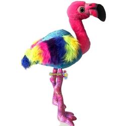Vardem Oyuncak - Peluş Oyuncak Gökkuşağı Flamingo 55 Cm