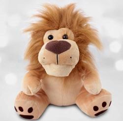 Selay - Peluş Oyuncak Kral Aslan 28 Cm