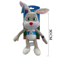 Peluş Oyuncak Tavşan TRT Akıllı Tavşan Momo 30 cm - Thumbnail