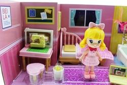 MEGA - Pembe Saçlı Maylla Mini Mutfak Oyun Seti Sesli Işıklı