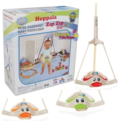 Pilsan Oyuncak - Pilsan Bebekler İçin Ördek Hoppala Zıp Zıp Sesli