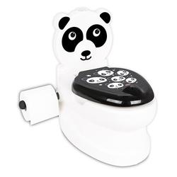 Pilsan Oyuncak - Pilsan Eğitici Panda Klozet Tuvalet