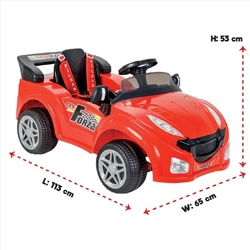 Pilsan Forza Akülü Araba 12 Volt Kumandalı - Thumbnail