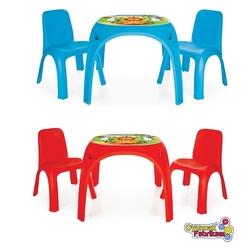 Pilsan Oyuncak - Pilsan İki Sandalyeli King Masa 2 Asorti