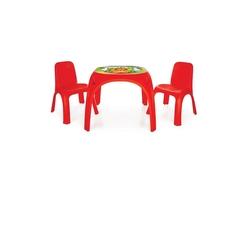 Pilsan İki Sandalyeli King Masa 2 Asorti - Thumbnail