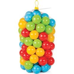 Pilsan Kaydıraklı Oyun Seti İntex Büyük Şime Mavi Havuz+100 Adet Oyun Topu+Pompa - Thumbnail