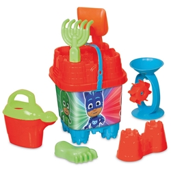 Dede toys - PJ Masks Büyük Kale Kova Set 20x42 cm