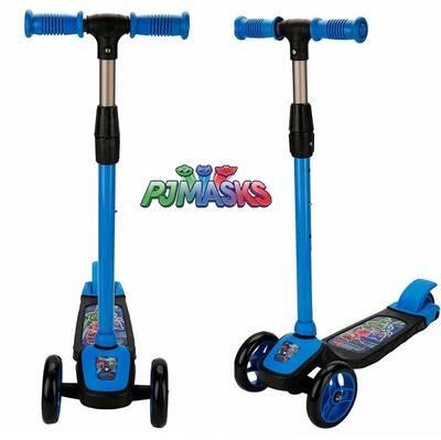 Pjmasks Çocuk Twistable 3 Tekerlekli Scooter Frenli