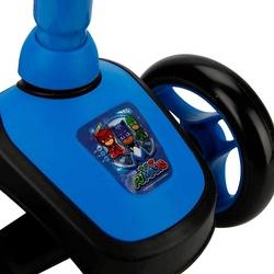 Pjmasks Çocuk Twistable 3 Tekerlekli Scooter Frenli - Thumbnail