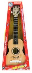 MEGA - Plastik Açık Kahve Klasik Gitar