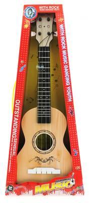 Plastik Açık Kahve Klasik Gitar