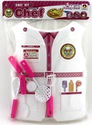 MEGA - Plastik Kostümlü Aşçı Seti