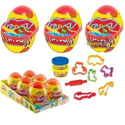 Play-Doh - Play Doh Oyun Hamuru Sürpriz Yumurta Egg Farklı Kalıplar