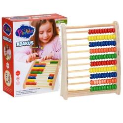 PlayWood-Onyıl - Play Wood Eğitici Ahşap Abaküs 6 Renk