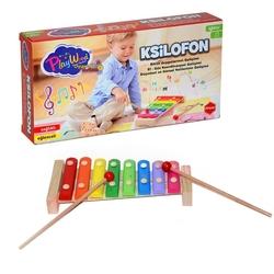PlayWood-Onyıl - Play Wood Eğitici Ahşap Oyuncak Ksilofon ONY-308