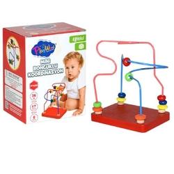 PlayWood-Onyıl - Play Wood Eğitici Ahşap Oyuncak Mini Boncuklu Koordinasyon
